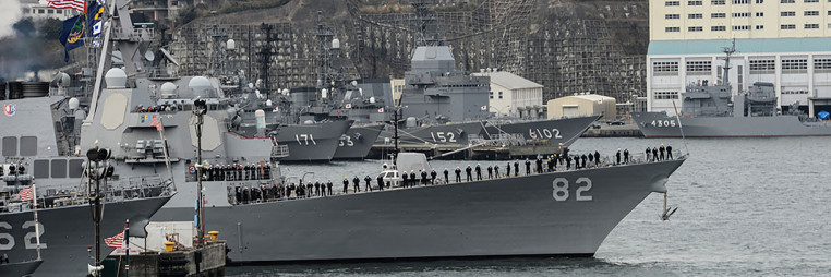 USS Lassen changes homeport after 10 years in Japan