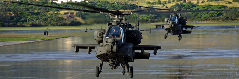 Apache Guardians arrive in Hawaii for training