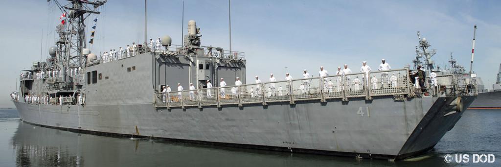Photo USS McClusky (FFG 41)