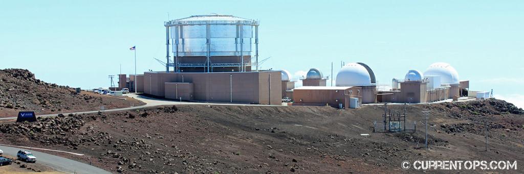Photo Haleakala Satellite Tracking Station
