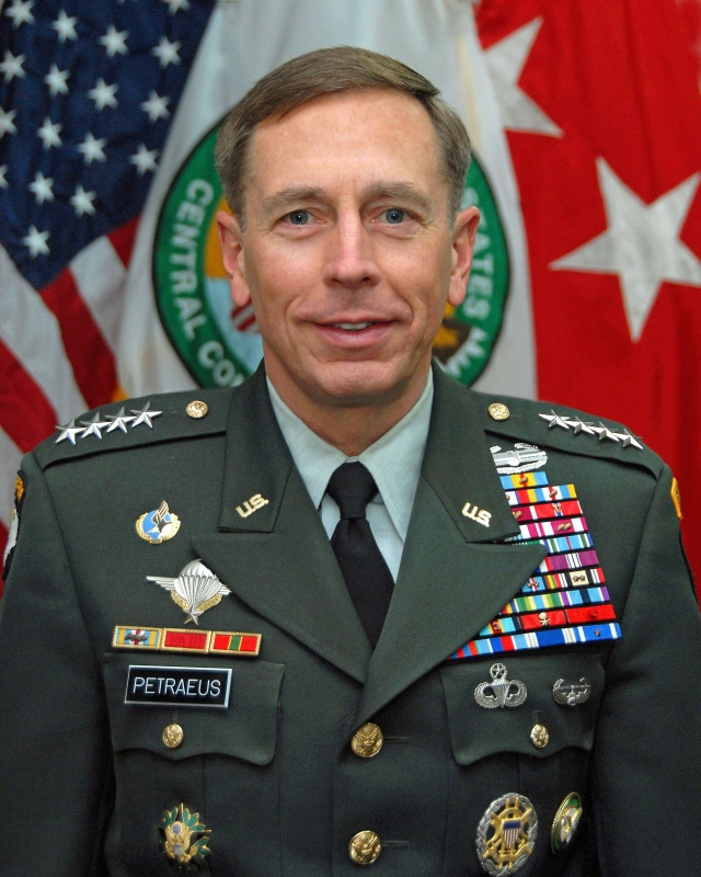 Portrait David Petraeus