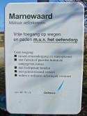 Sign Marnewaard Tng Area