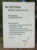 Sign De Vijf Eiken Tng Area