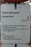 Sign Stroese Zand Tng Area