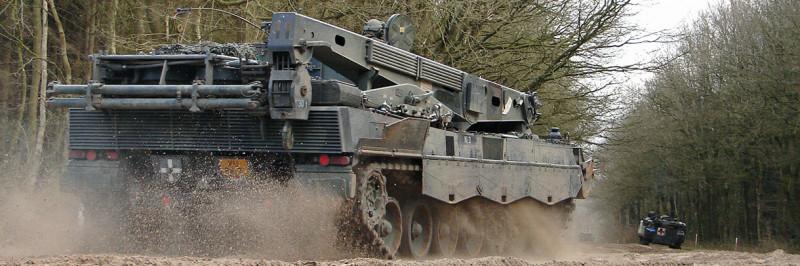 Leopard 2 Bergingstank